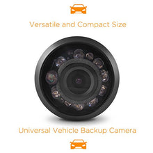 Load image into Gallery viewer, XO Vision HTC36 Universal HD Weatherproof Rear View Car Backup Camera Black