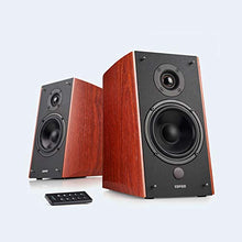 Load image into Gallery viewer, Edifier R2000DB Powered Bluetooth Bookshelf Speakers - Near-Field Wood-Finish