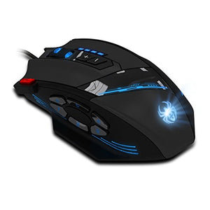 12 Programmable Buttons Zelotes C12 Gaming Mouse, AFUNTA Laser C12-Mouse