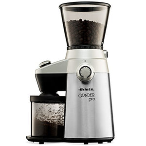 Ariete-Delonghi Conical Burr Electric Coffee Grinder - Professional Heavy...