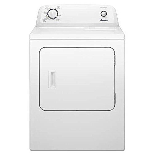 AMANA NED4655EW 6.5 cu. ft. Front Load Electric Dryer with 11 Drying Cycles - YPRP