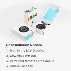 BOND | Smart Home Automation | Make your Ceiling Fan or Fireplace through...