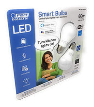 Load image into Gallery viewer, FEIT Electric Smart Wi-Fi LED Color Changing Dimmable 2 Pack, Feit