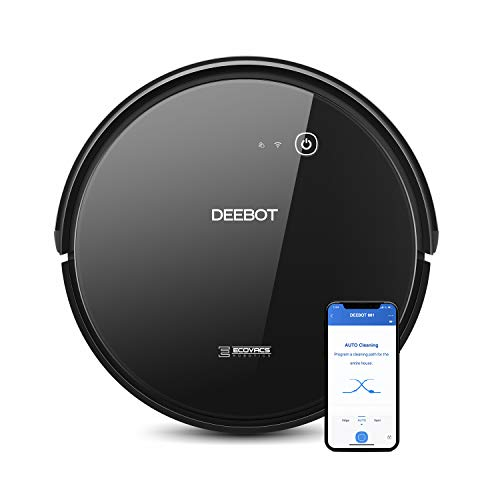 ECOVACS DEEBOT 661 Convertible Vacuuming or Mopping Robotic Vacuum Cleaner...