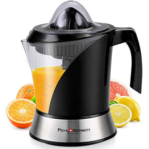 Pohl+Schmitt Deco-Line Citrus Juicer Machine Extractor - Large Small, Black