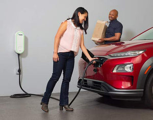 Electrify America - Electric Vehicle (EV) Home Charger - Level 2 EVSE, 240V,...