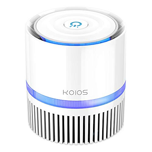 KOIOS Air Purifier, Indoor Cleaner with 3-in-1 True HEPA Filter for Home...