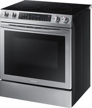 Load image into Gallery viewer, Samsung - 5.8 Cu. Ft. Electric Self-Cleaning Slide-In Range with Convection...
