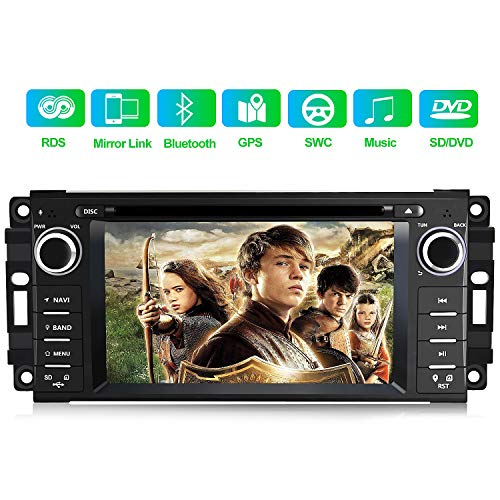Car Stereo Radio with Bluetooth 6.2 Inch Touch Screen Multimedia Player with...