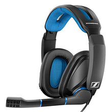 Load image into Gallery viewer, Sennheiser GSP 300 - Closed Back Gaming Headset for PC, Mac, Black and Blue