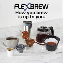 Load image into Gallery viewer, Hamilton Beach FlexBrew Trio Coffee Maker, 2-Way Single Serve & Black, Black