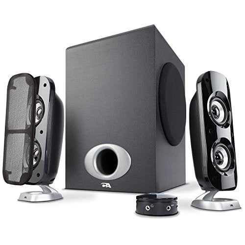 Cyber Acoustics High Power 2.1 Subwoofer Speaker System with 80W of –...