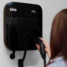 Load image into Gallery viewer, Blink Home Electric Vehicle (EV) Charger Level 2 With A Delayer to Optimize...