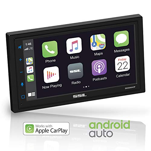 Sound Storm DD988ACP Apple CarPlay Android Auto Car Multimedia Player -...
