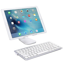 Load image into Gallery viewer, OMOTON Ultra-Slim Bluetooth Keyboard Compatible with 2018 iPad Pro White