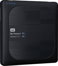 Load image into Gallery viewer, WD - My Passport Wireless Pro 2TB External USB 3.0 Portable Hard Drive Black