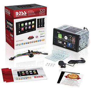 BOSS Audio BVCP9685A Apple Carplay Android Auto Car Multimedia Player -...