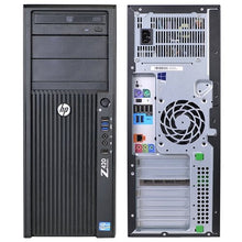 Load image into Gallery viewer, HP Z420 Workstation Desktop Computer - Intel Xeon E5-1607 v2 Quad Core - COMPD