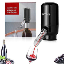 Load image into Gallery viewer, EWCover Electric Wine Aerator Pourer, Automatic 121x105x51.8 MM, Black