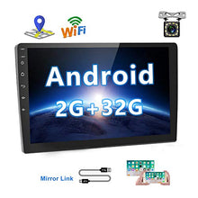 Load image into Gallery viewer, [2G+32G] Upgrade Hikity Double Din Android Car Stereo 10.1 Inch Touch 2G+32G