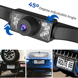 Backup Camera, Esky Car Rear View Reversing Camera Automotive with...