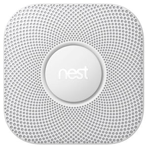 Nest Protect Smoke & Carbon Monoxide Alarm, Battery (2nd gen), White