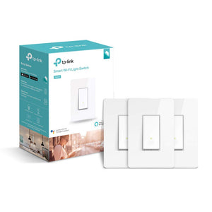 TP-LINK HS200P3 Kasa Smart WiFi Switch (3-Pack) Control Lighting from...