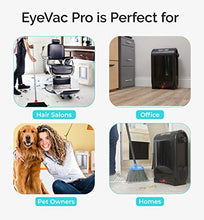 Load image into Gallery viewer, EyeVac PRO Touchless Stationary Vacuum - 1400 Watts 24-Inch, Black