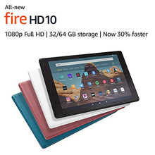 "Load image into Gallery viewer, All-New Fire HD 10 Tablet (10.1"" 1080p full display, 32 GB) – White"