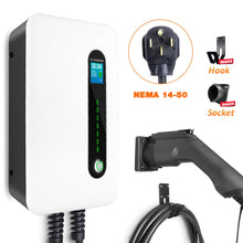 Load image into Gallery viewer, BESENERGY EV Charging Station 32 Amp Level 2 Electric Vehicle Charger EVSE...