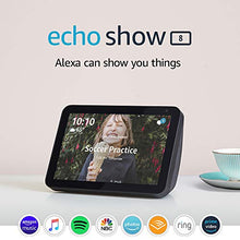 Load image into Gallery viewer, Echo Show 8 - stay connected and in touch with Alexa - Charcoal