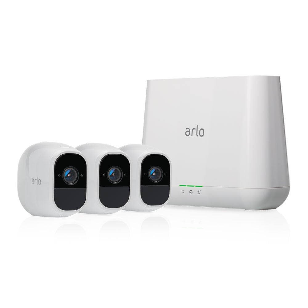 Arlo Pro 2 - Wireless Home Security Camera System with Siren - 3 Camera System