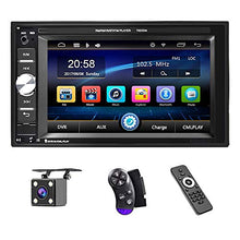 Load image into Gallery viewer, UNITOPSCI Car Multimedia Player - Double Din, Bluetooth Audio and Calling,...