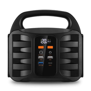 Generator Portable Power Station,NusGear 155Wh 42000mAh Camping 155Wh, Black