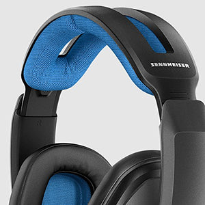 Sennheiser GSP 300 - Closed Back Gaming Headset for PC, Mac, Black and Blue