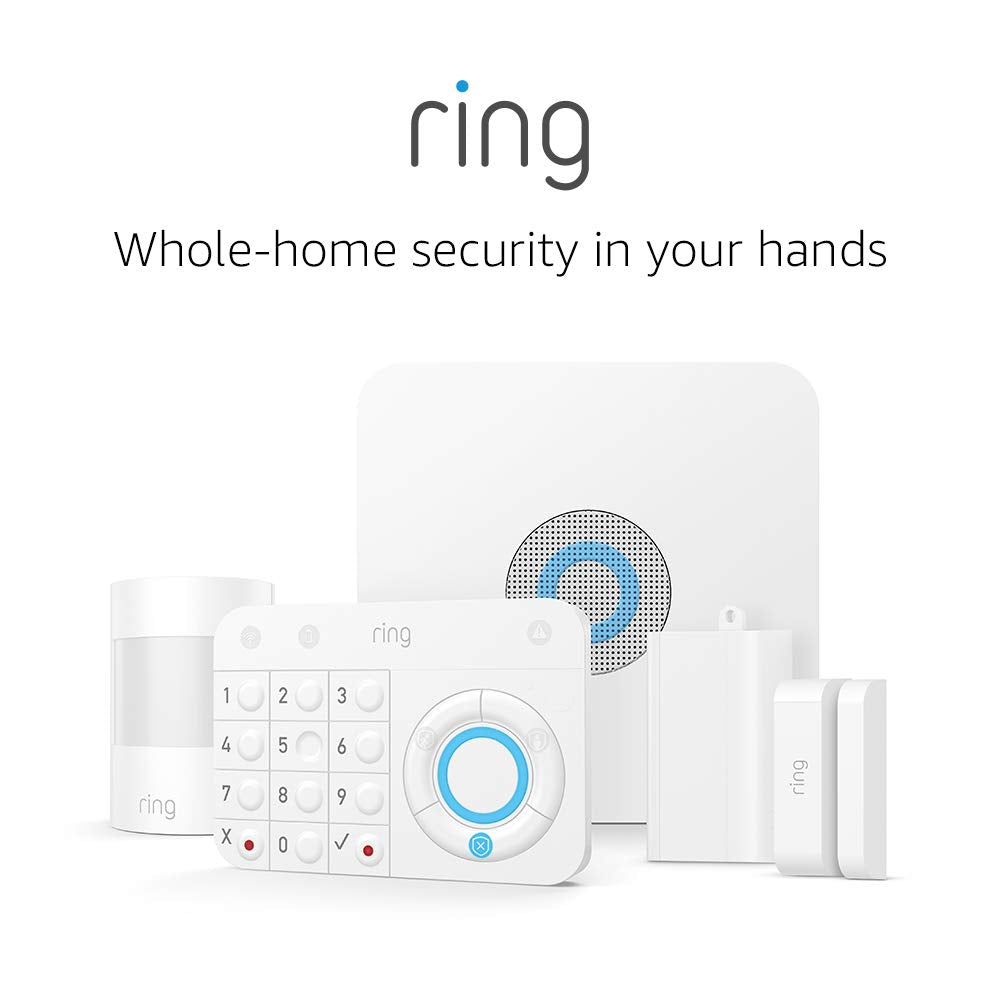 Ring Alarm 5 Piece Kit – Home Security System with optional 24/7...