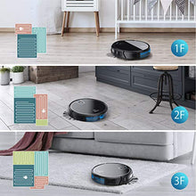 Load image into Gallery viewer, MOOSOO Robot Vacuum, Wi-Fi Connectivity, Smart WIFI robot vacuum, Black