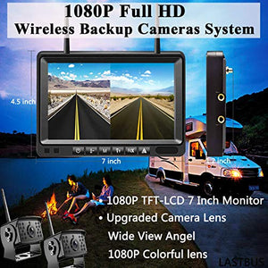 Wireless Backup Camera, IP69 Waterproof 1080P HD wireless-2, Wireless-Cam-2