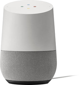 Google - Home - Smart Speaker with Assistant - White/Slate