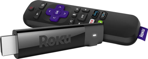 Roku - Streaming Stick+ 4K Media Player with Voice Remote Black