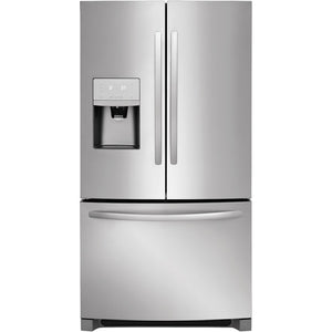 Frigidaire - 26.8 Cu. Ft. French Door Refrigerator - Stainless steel