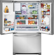 Load image into Gallery viewer, Frigidaire - 26.8 Cu. Ft. French Door Refrigerator - Stainless steel