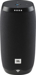 JBL - LINK 10 Smart Portable Bluetooth Speaker with Google Assistant - Black
