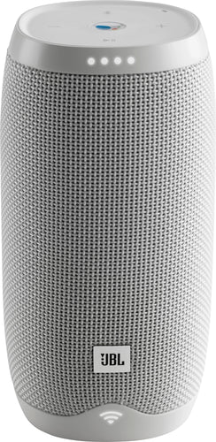 JBL - LINK 10 Smart Portable Bluetooth Speaker with Google Assistant - White