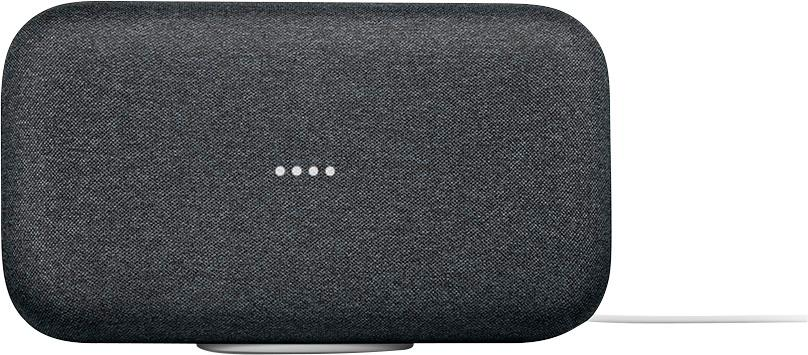 Google - Home Max - Smart Speaker with Assistant - Charcoal