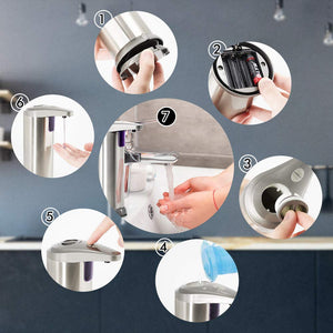 ELECHOK Soap Dispenser, Touchless Automatic Infrared Motion...