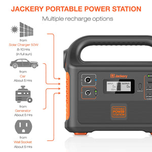 Jackery Portable Power Station Explorer 160, 167Wh Solar Generator Lithium...