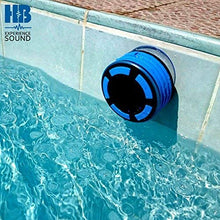 Load image into Gallery viewer, Bluetooth Portable Waterproof Shower Radio - HB Illumination – Blue
