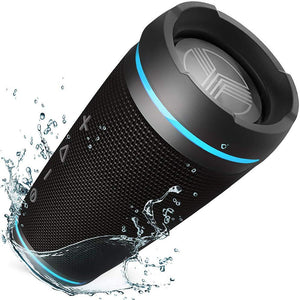 TREBLAB HD77 - Ultra Premium Bluetooth Speaker - Loud 360° HD Surround Black