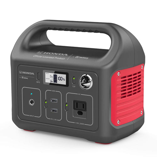 Honda by Jackery HLS 290 Portable Lithium Battery Mobile Power Station,...